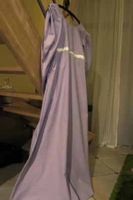 La robe est fin prête.
