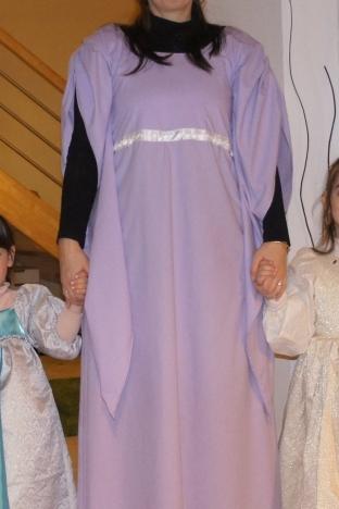 Fée mélusine et ses deux princesses.