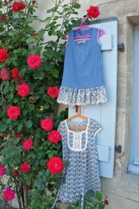 Deux petites robes d'été.