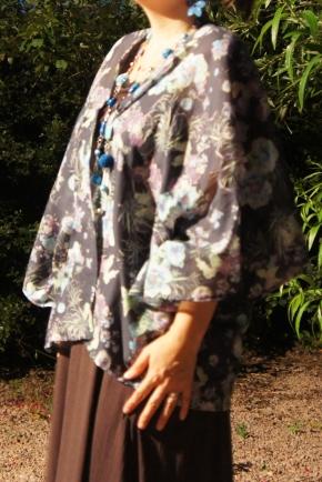 La veste kimono et le foulard